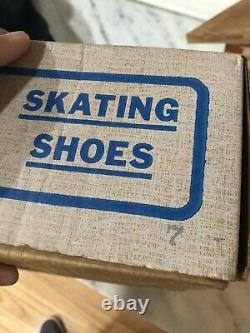 Vintage Riedell USA Speed Roller Skates Vintage Sure-Grip 7 In Box Rare