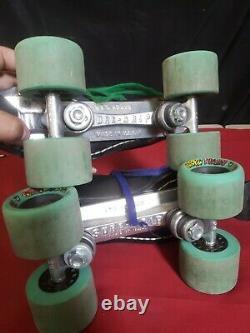 Vintage Riedell USA Speed Roller Skates Vintage Sure-Grip Super X5L Sure Grip