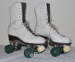 Vintage Riedell Womens Roller Skates Size 7.5 Model 172 OG Rhythm
