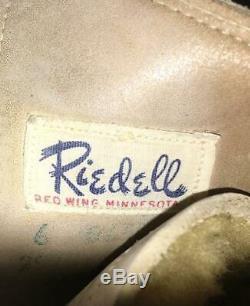Vintage Riedell Womens Sz 6 Snyder Douglas Super Deluxe Roller Skates USA