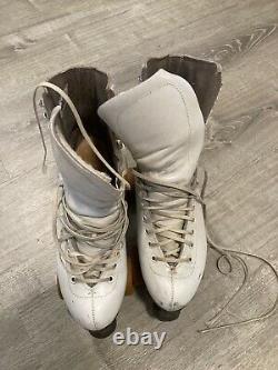 Vintage Riedell roller skates. Powell Peralta Bones Wheels. Size 6.5. Rare