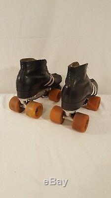 Vintage Roller Skates-Riedell 7749 Sure-Grip Cyclone Belair Blazer Wheel Size 7