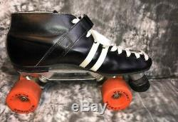 Vintage Roller Skates Riedell RS1000. Men's Size 11 Invader Plates