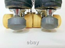 Vintage Roller Skates Snyder Super Deluxe 11 Plates Riedell Men's Boots 9.5