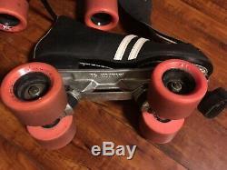 Vintage Roller Speed Skates Riedell Invader Size Mens 7