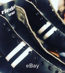 Vintage Roller Speed Skates Riedell Invader Size Mens 9 Great Shape