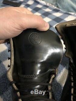Vintage Snyder Super Deluxe Roller Skates Riedell Gold Star Boot Size 8