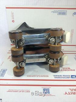 Vintage Sz M10 Riedell R. W, FO MAC Wheels, Chicago Custom GM II Excellent