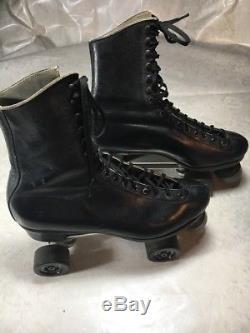 Vtg Douglas Snyders Super Deluxe Riedell Roller Skates Mens (rare)sz-11