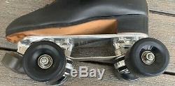 Vtg RIEDELL Roller Skates 220 sz 7.5 DOUGLASS SNYDER Super Deluxe PLATES Fafnir