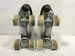 Vtg Riedell 297 R Douglas Synder Galaxy 5500 Wheels Roller Skates Women's 4