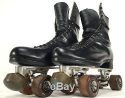 Vtg Riedell Red Wing Roller Skates Mens Sz 11 Douglass Snyder Custom Built Skate