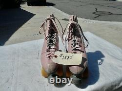 Women's Riedell 297R High End Roller Skates Size 6 1/2 Sure Grip Century Plates
