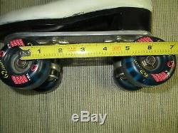 Women's Riedell 297R Roller SkatesChicago GM II PlatesKryptonics WheelsSize-6