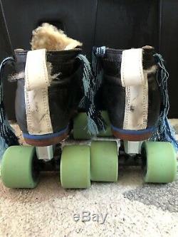 Women's Riedell Blue Streak Roller Skates Size 6.5