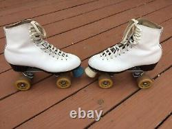 Women's Riedell Sure Grip Super X 5L Roller Skates Size 8 USA
