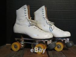 Women's Vintage Riedell Roller skates Size 6.5, Sure-Grip, Vanguard Tiger Claw