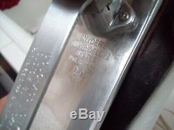 Womens Riedell Douglass Snyder Custom 10 Super Deluxe Roller Skate Plates Sz 8.5